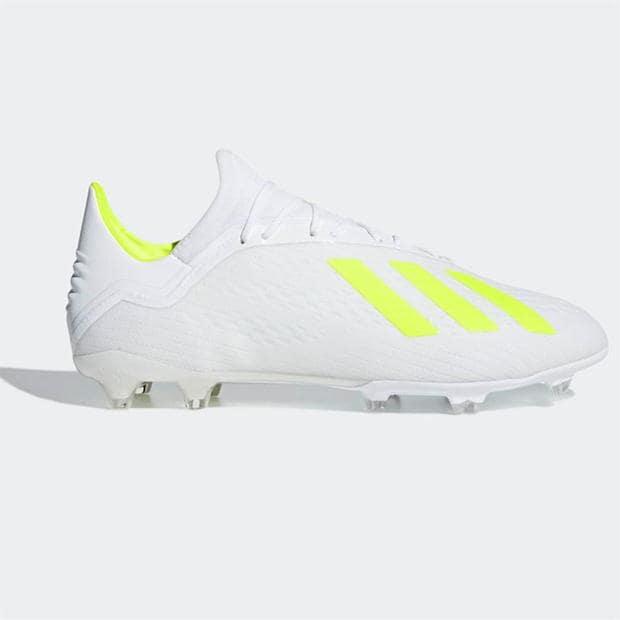 Adidas x 18.2 Uomo Fg Sautope da Calcio UK 10 US 10.5 Eur 44.23 Ref 1836