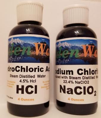 Mineral Solution de purification d/'eau Set Acide Citrique 50/% 28/% Chlorite