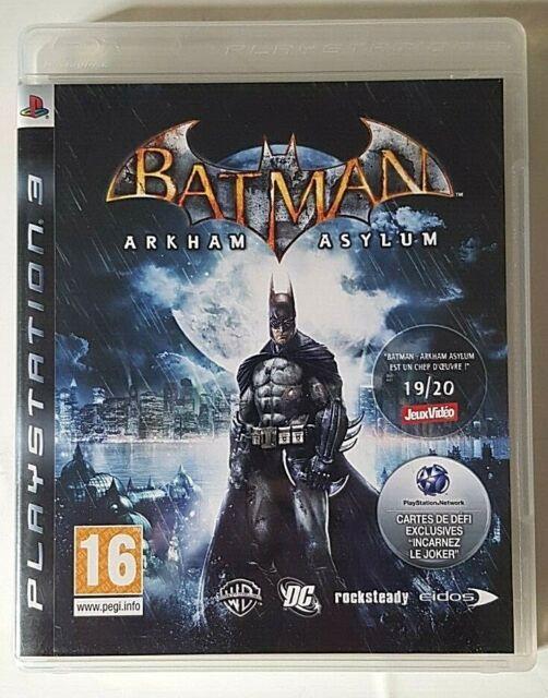 Batman Arkham Asylum - PlayStation 3 PS3 - Complet