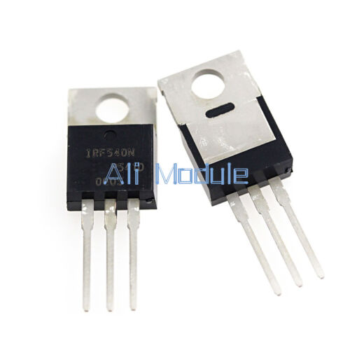 5PCS IRF540N IRF540 TO-220 N-Channel 33A 100V Power MOSFET NEW AM