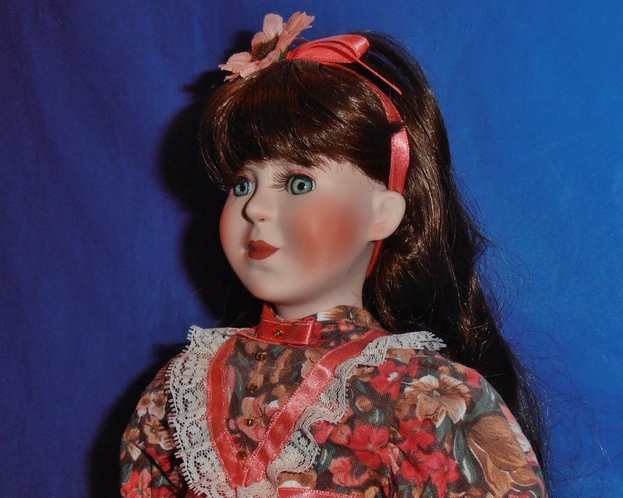 Paradise Galleries, Vintage Porcelain Doll ( Little damen-Beth  ) Limited