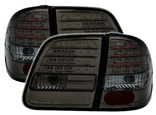 DEL Feux Arrières Set dans SMOKE for Mercedes Classe E w210 T Kombi des