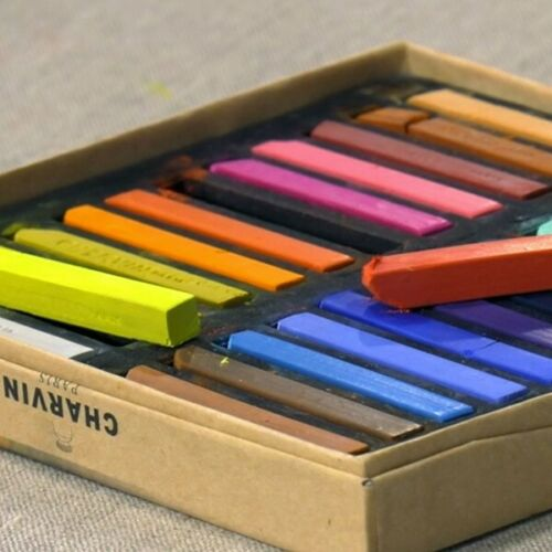 Charvin Water-Soluble Pastel Painting Sticks Set of 48