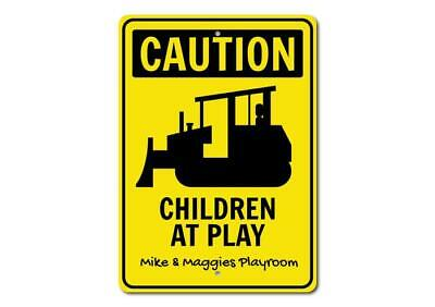 Caution Playroom Sign Construction Sign ENSA100068 Playroom Decor