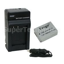 Battery + Charger Kit for Canon NB-10L PowerShot SX50 HS SX40 HS G15 G1 X