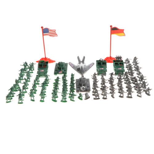 289 Stück Plastik WWII Soldat 2cm Armee Figuren Spielset Für Armee Männer