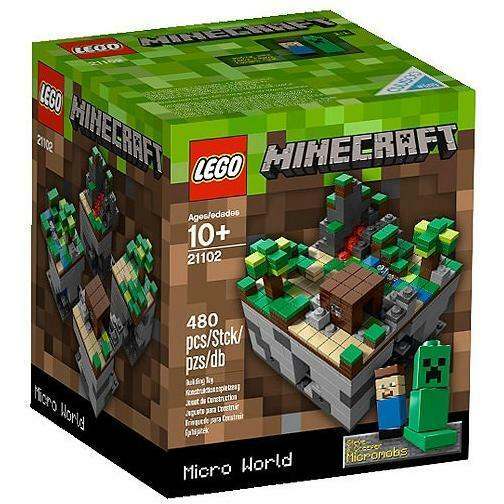 NEW Lego Cuusoo SOLD OUT Set 21102 Micro World