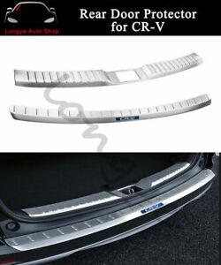Rear-Door-Plate-Fits-For-Honda-CRV-CR-V-2017-2020-Bumper-Cover-Sill-Trim-Scuff