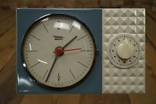 Diehl Electro Orologio da parete 50er Orologio Da Cucina Vintage Rockabilly Design 50s OROLOGIO SVEGLIA