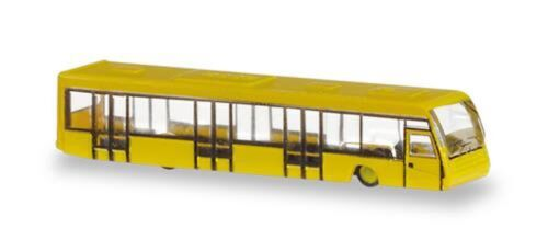 HERPA AIRPORT BUS SET 1/400 SET OF 4
