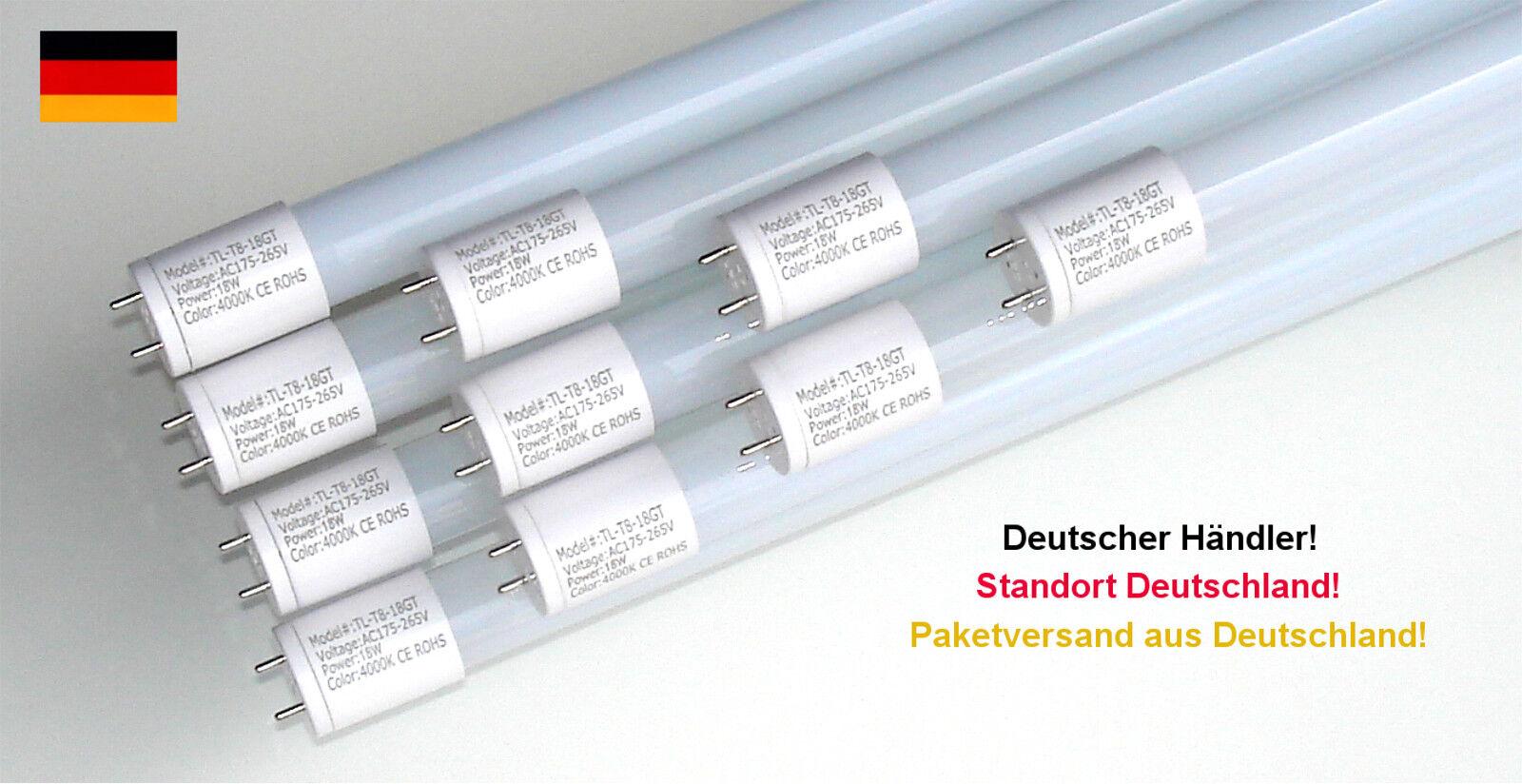 LED Leuchtröhre Neonröhre Leuchtstofflampe 10er Pack T8 G13 150 cm 2700K EEK A+