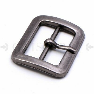 15pcs 42mm Metal Buckle Antique Bronze Buckles Heavy Duty hook and eye Metal Closures for Belting or Sewing