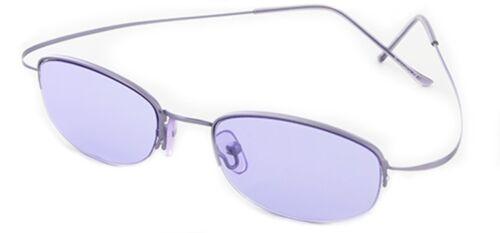 Occhiali da Sole Ovali Piccoli Semi rimmed Flexi Retro Cat 3 Sunoptic 5011