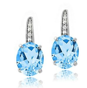 Made-with-Swarovski-Crystal-SWISS-BLUE-TOPAZ-EARRINGS-STERLING-SILVER-1-1-034