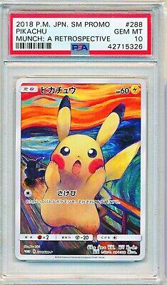 Pokemon Estado perfeito mimikyu SCREAM Munch Japonês Sm Promo Card 289//SM-P