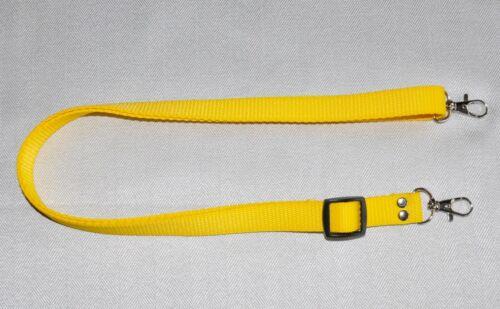 Clip de Metal Amarillo Cuello Correa de hombro W 20 mm para Cámara DSLR//SLR NUEVO NC 136 *