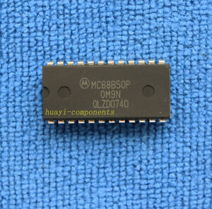 5pcs MC68B50P MC6850P ASYNCHRONOUS COMMUNICATIONS INTERFACE