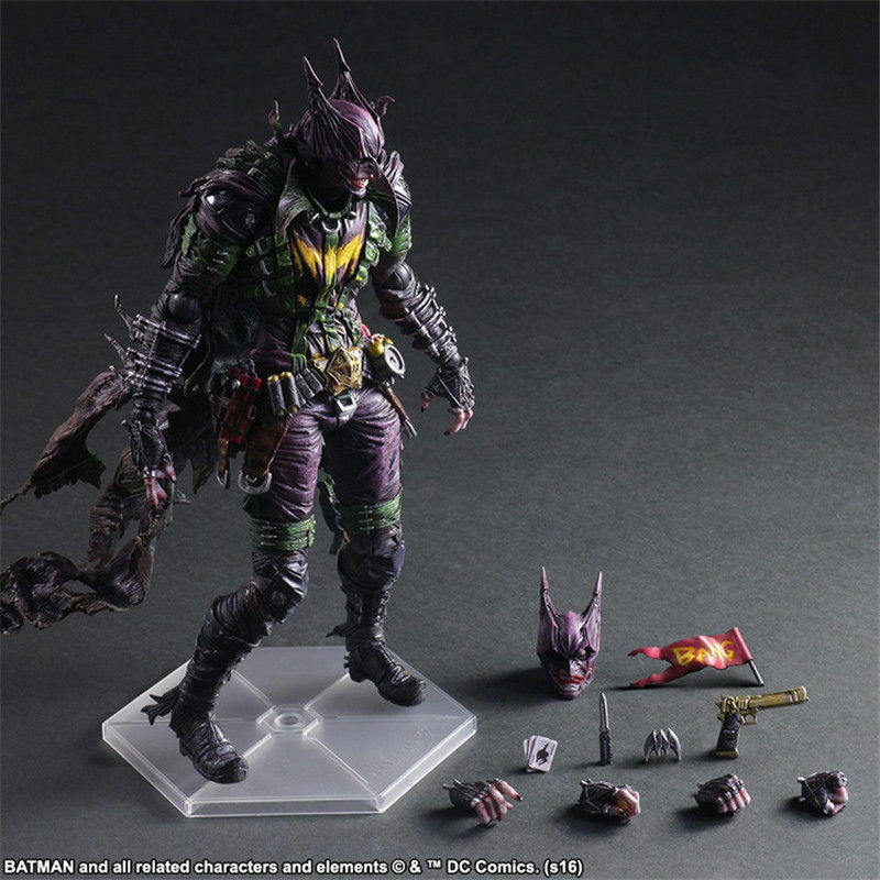 Square Enix DC Comics variante Jugar Arts Kai Batman Figura Rogues Gallery Joker