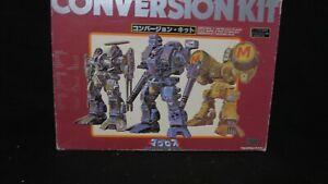 Used Macross Robotech TAKATOKU 1//100 CONVERSION KIT Decal seal unused Japan