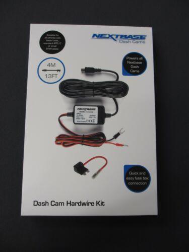 Nextbase Alambre Duro Kit Car Dash Cam Cámara 112//212//312GW//412//512GW//612//Duo HD