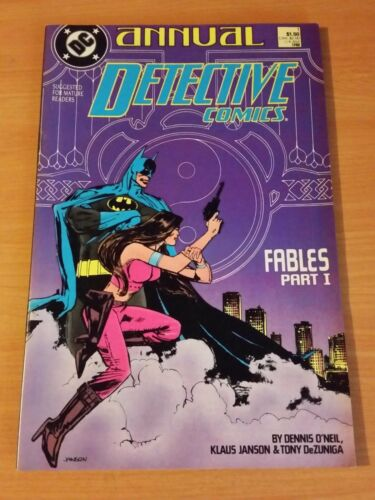 Detective Comics Annual #1 ~ NEAR MINT NM ~ 1988 DC COMICS