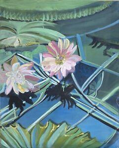 Brigitte-tietze-berlin-oil-painting-still-life-lily-expressiver