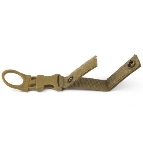 Outdoor Camping Water Bottle Holder Clip Hiking Tactical Carabiner Belts Buckles