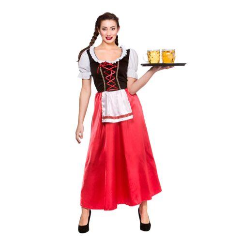 Bavarian Beer Wench Oktoberfest Germany Adults Womens Fancy Dress Costume