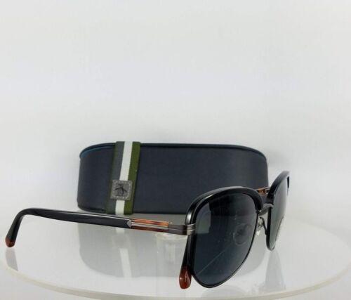 Brand New Authentic Penguin Sunglasses The Will Sun Shiny Black 49mm Frame