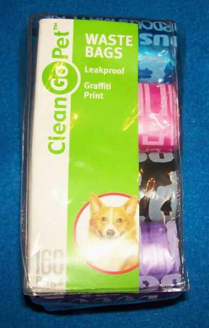 525249f5772a Clean Go Pet Replacement Dog Waste Bags 8pk Graffiti