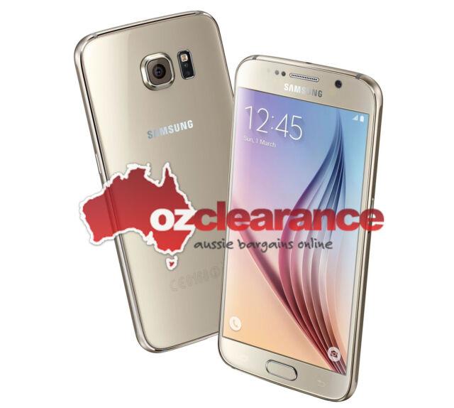 USED | Samsung  Galaxy S6 SM-G920I | 32GB | Gold Platinum | Bad charge life