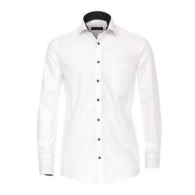 Clothing, Shoes & Accessories Dress Shirts 2019 New Style Übergrößen Casa Moda Langarmhemd Strukturiert Weiß 46 48 50 52 54 56 Neu Xxl Good For Energy And The Spleen