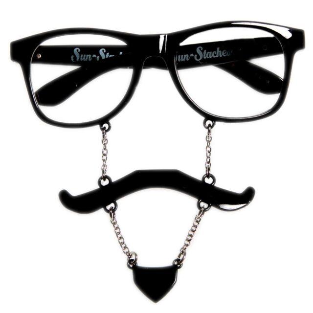 soul patch sun stache glasses novely eyeglasses groovy fnt ebay Oakley Flak Jacket Polarized Len Normal black soul patch sun stache