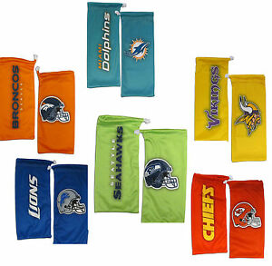 NFL-Football-Eyewear-Microfiber-Glasses-Bag-Pick-Team