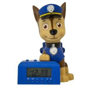 Kinderwecker Bulbbotz Paw Patrol Chase 08-2021302 Digital Alarm