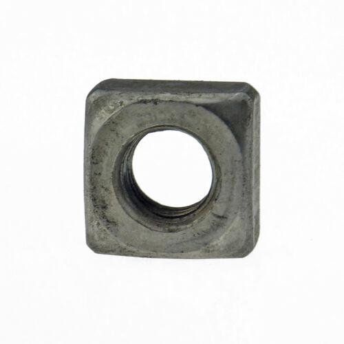 Vierkantmuttern DIN 557 5 Stahl blank