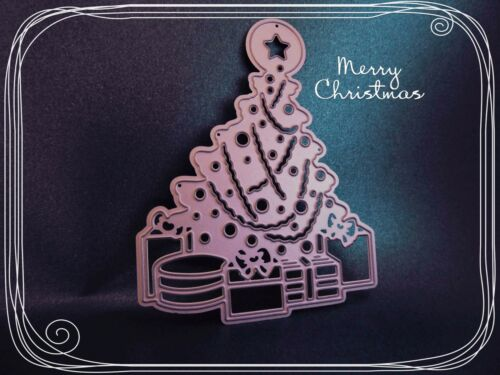 New** Christmas Tree Cutting Die Stencil,Metal,Craft,Card Making,Xmas,Star,Gift