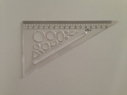 for students and children Triangle Ruler for easy Design