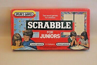 Jeu De Société Vintage Scrabble For Juniors - English Version 1983 2019 Official