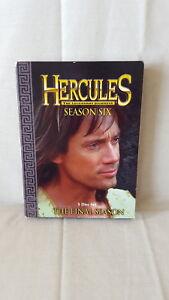 Hercules-The-Legendary-Journeys-Season-6-Six-DVD-VERY-Hard-to-Find-OOP-RARE