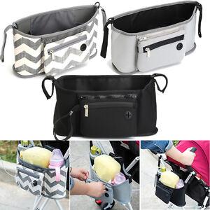 Universal-Baby-Trolley-Storage-Bag-Stroller-Cup-Carriage-Pram-Buggy-Organizer