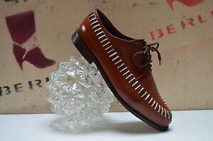Trumans Loafer Schnürschuhe True Leder Vintage Handmade Geflochtenes Halbschuhe PXiuZk