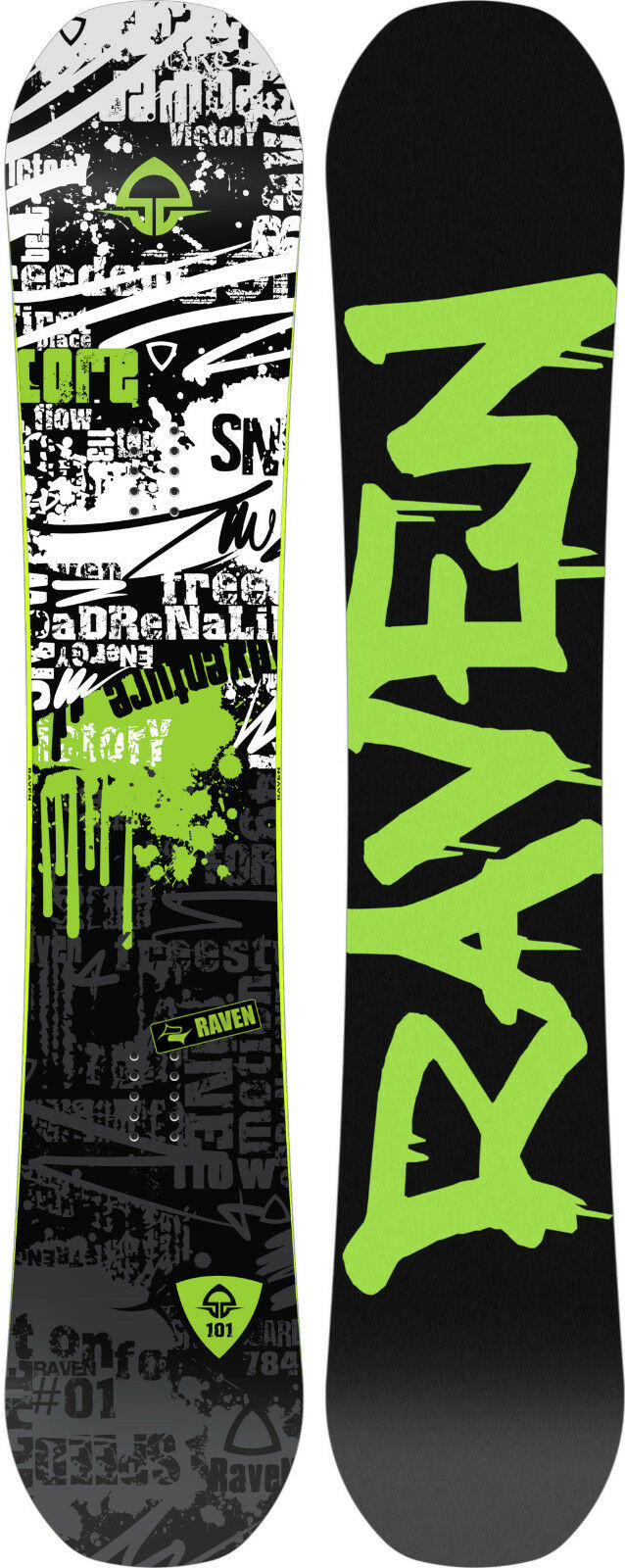Snowboard Raven Core Limited 2019 - various lengths - New