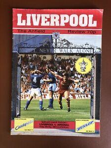 Liverpool-v-Arsenal-1989-0-2-Match-Day-Programme
