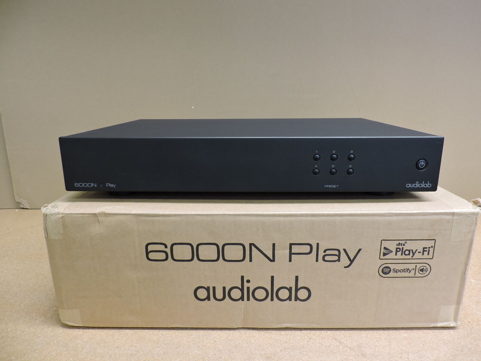 Audiolab 6000N Play Wireless Streaming Player (Black) 6000n audiolab play player streaming wireless