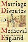 Marriage Disputes in Medieval England by Frederick Pedersen (Hardback, 2000)