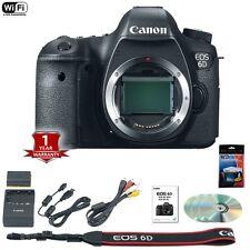Canon EOS 6D DSLR Camera Body 20.2 MP Memorial Day Sale