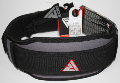 RDX 8d Weightlifter Belt Belts Grey//Black//RED S 90 CM Training Belt