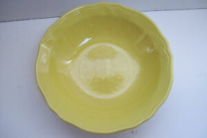 """Buttercup Federalist Ironstone yellow 6 1/2"""" Soup Cereal  Bowl Made In Japan"""