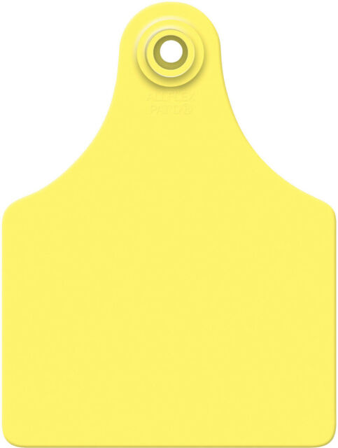 Allflex Global Maxi Numbered Cattle Ear Tags Yellow 76-100